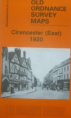 Old Ordnance Survey Map Cirencester East Gloucestershire 1920 S51.11 New Map
