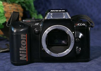 NIKON N4004s Auto Focus 35mm SLR Camera Body Only