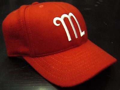 Mexico City Diablos Fitted Cap Ebbets Field Flannels