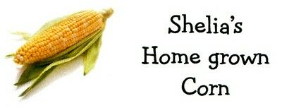 Corn Vegetable Address Labels