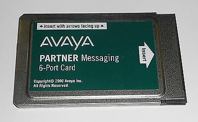 Avaya AT&T Lucent Partner Messaging 6-Port Voicemail Card 515C 700262470