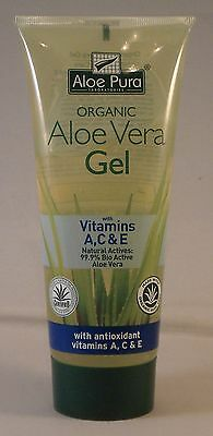 Aloe Pura Organic Aloe Vera Gel + Antioxidants 200ml