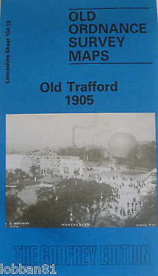 Old Ordnance Survey Maps Old Trafford Lancashire 1905 Godfrey Edition New Offer