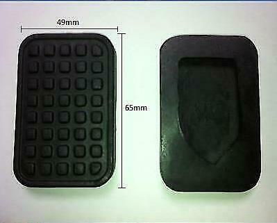 Brake And Clutch Pedal Foot Pad Cover Rubbers For Peugeot 106