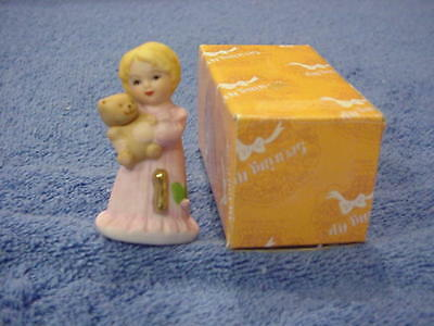 Enesco Growing Up Girls Blonde Age 1 Figurine E-2301