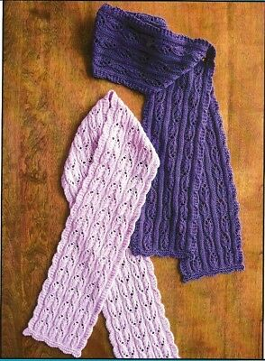 LACE FLOWER BASKET SHAWL /& SCARF to KNIT in 3 DIFFERENT YARN WTS by EVELYN CLARK
