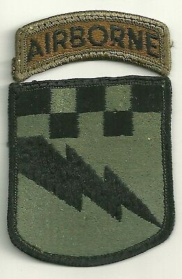 US Army 525th Military Intelligence Bde (A) BDU Patch
