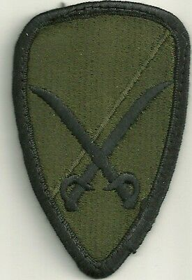 Military Patch US Army 6th Cavalry Brigade BDU Sew-on Authentic