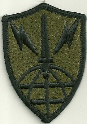 Authentic US Army Information System Engineer BDU Patch