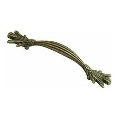 "Hickory P7530-WDA 3 3/4"" Antique Brass Carribean Pull"