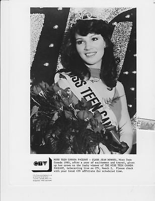 Clara Jean Howard beauty pageant VINTAGE Photo