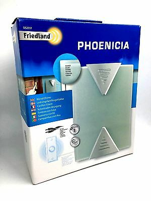 Friedland Phoenicia Glass Wired Door Chime D525 ST