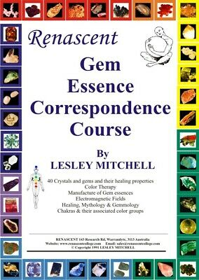 Renascent Gem Essence Certificate Course  - Certified, Accredited Practitioner