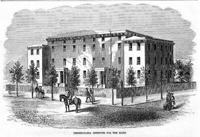 Pennsylvania Institute For The Blind, 1854 Architecture