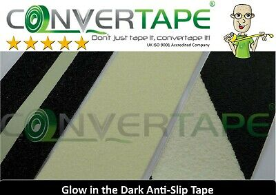 Anti Slip Self Adhesive Photoluminescent Luminous Glow In The Dark Safety Tape