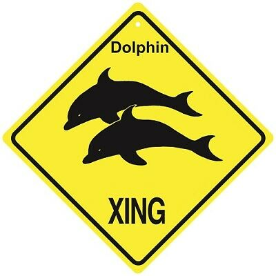 Dolphin Crossing Xing Sign New