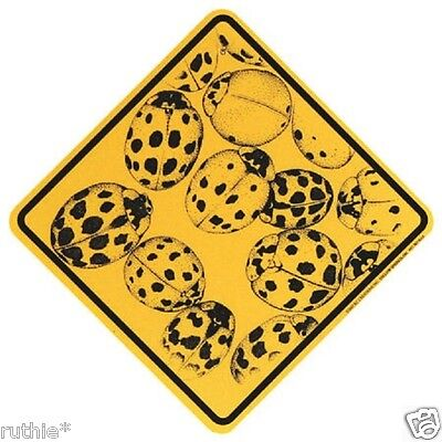 Lady Bug Crossing Xing Sign New Ladybug