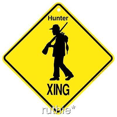 Hunter Crossing Xing Sign New
