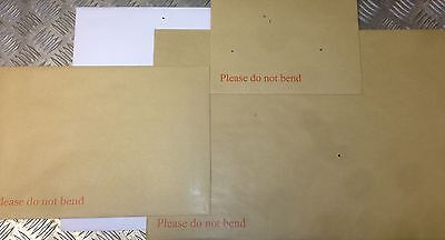 Strongest Board Back / Backed Envelopes Do Not Bend C3,c4,c5,c6 All Colours