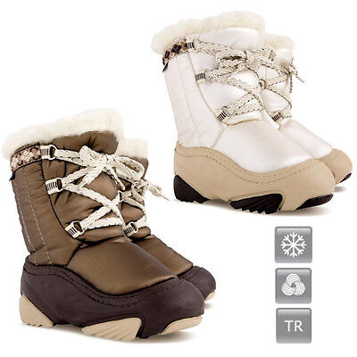 DEMAR Kinder Winterstiefel Winter Schuhe Snowboots JOY