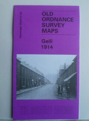 Old Ordnance Survey  Map Gelli near Pentre Glamorgan 1914 Sheet 27.02 New