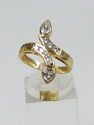 Ring 585 Gold in Schlangenform mit Zirkonen?