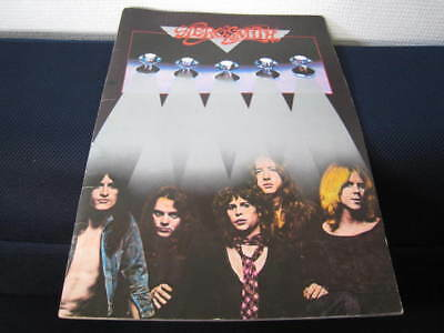 Aerosmith 1977 Japan Tour Book Concert Program Joe Perry Steven Tyler