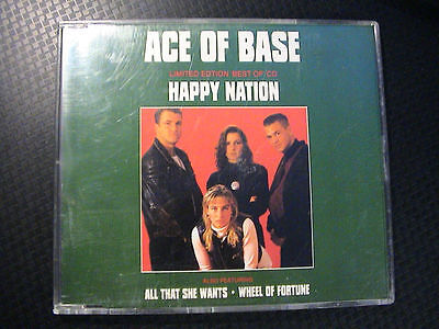 Ace Of Base LIMITED EDITION BEST OF CD 3-trk UK CD
