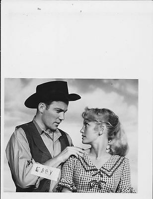 William Shatner Fay Spain VINTAGE Photo trimmed