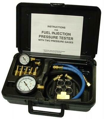 S & G Tool-Aid 33980 Fuel Injection Pressure Tester w/ Two Gauges