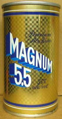 MAGNUM 5.5 ALE ss empty Beer CAN, Carling O'Keefe, Toronto, CANADA grade 1/1+