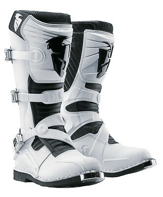 Thor MX Motocross Stiefel Ratchet weiss Enduro boot Crossstiefel Quad