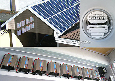 3200 W 8pcs x Grid Tie Inverter + 3000 W Watts 30pcs x 100W Mono Solar Panel