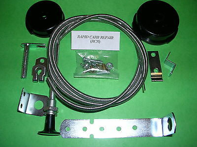 UNIVersal fit weber carb MANUAL CHOKE KIT Jeep toyota WEBBER CARBURETOR