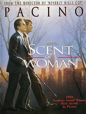 "SCENT OF A WOMEN - Movie Poster (7.6""x10""Photo)"