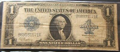 1923~~LARGE SIZE $1 SILVER CERTIFICATE~~VF BEAUTY