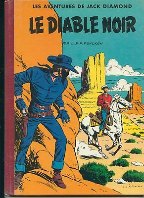 Jack Diamond Le Diable Noir  Editions Rijperman Tres Bel Etat