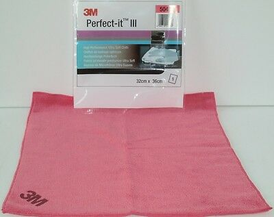 3M 50489 Perfect-it Hochleistungspoliertuch rosa (80345