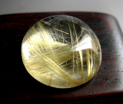 Splendide Quartz Rutile Or 16,06 Carats