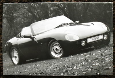 Tvr Griffith Press Photograph Black & White Undated