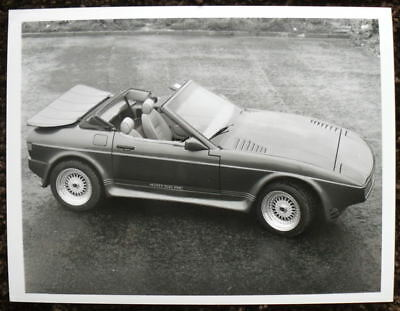 Tvr 420 S.e.a.c. Press Photograph Black & White Undated