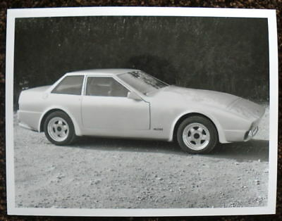 Tvr 420 Saloon Press Photograph Black & White October 1986