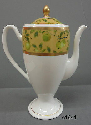 Waterford GOLDEN APPLE BEVERAGE OR COFFEE POT nib