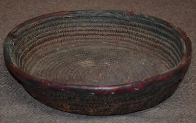 Rare Antique Basket Made By The Nupe Tribe, Nigeria