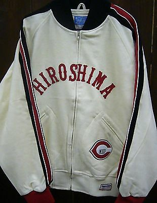 Hiroshima Carp Zip-up Light Wool Reno Jacket Stall&Dean - Ebbets Field Flannels
