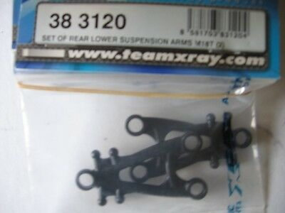 Team Xray M18T Rear Lower Ssupension Arms 38 3120 BIN19