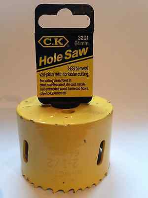 C. K. 64Mm Hss Bi-Metal Holesaw T3201 064