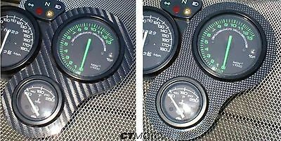 CARBON FIBRE CLOCK SURROUND for DUCATI 748 916 996 998 SS & Mito