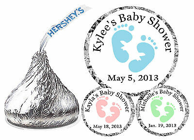 108 Baby Shower Favors Hershey Kiss Labels