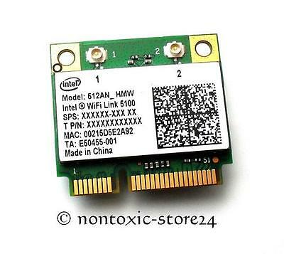 INTEL 5100 half size Mini PCI E WLAN Wifi  512AN_HMW N Draft DELL FSC ASUS SONY